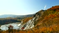 秋の登別 大湯沼~日和山 左からパンニング 18302504