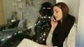 女性 メス 電話の動画 18610978