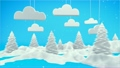 Winter Landscape 3D Scene 18690988