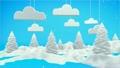 Winter Landscape 3D Scene 18690988