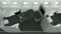 頭等艙內部由冷淡的分區劃分 19713491