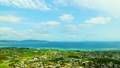 Okinawa Iejima Touch Shimo Sea and houses bird's-eye view Time lapse 19933876