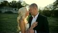Wedding bride and groom walk 19971093