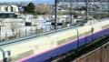 雪の中の新幹線 20040963