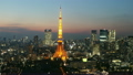 東京トワイライト 東京タワー タイムラプス ティルトアップ 20481459