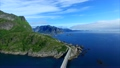 Brifge on scenic road on Lofoten islands, Norway 20509547