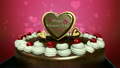 Typo 'Happy Valentines Day' on cake. 21142245