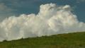 もくもくと湧き上がる入道雲とニッコウキスゲ咲く丘 タイムラプス 21156444