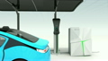 充電スタンド 電気自動車 充電の動画 21369301