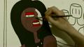 the Artist Paints a Picture of Futurism, Pop Art 21413909
