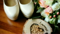Close up of wedding decoration made of beautiful 21463721