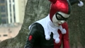 Girl In Cosplay Jester Costume 21523144