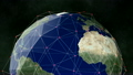 Earth 1013: A global network surrounds the Earth. 21576637