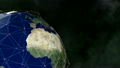 Earth 1014: A global network surrounds the Earth. 21576663