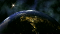 Earth 1015: Planet Earth rotates in space. 21576688