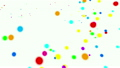Colorful simple spots Dot background Background Abstract 21716738