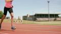 Sportswoman running 21852484