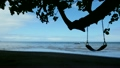 ハワイのビーチ そよ風吹く樹木の日陰の下 穏やかな入り江 ハワイ素材 海  21978015