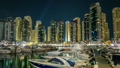 View of Dubai Marina Towers and yahct in Dubai at 21998341