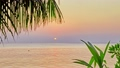 Beautiful sunrise on a tropical island  22019441