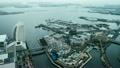 くれゆく横浜港(タイムラプス) 22424467