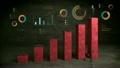 ビジネスマン 実業家 図表の動画 22468675