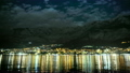 Makarska by night in summer 2015, time lapse 22493431