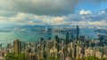 Hong Kong Cityscape Time Lapse (pan shot) 22520292