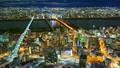 Timelapse of Osaka city at night, Japan 22745689