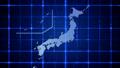 从世界地图的外观到日本地图蓝色 22830828