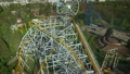 Aerial View of Amusement Park 22844992