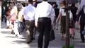 スローモーション 通勤 新橋 新橋駅前 朝 ビジネスマン ビジネスウーマン ハイスピード撮影 23180688