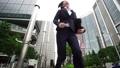 スローモーション ビジネスウーマン 急ぐ 東京 丸の内 大手町 ハイスピード撮影 23280023