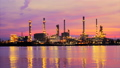 Time Lapse, The refinery in the morning light  23528763