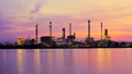 Time Lapse, The refinery in the morning light  23528764