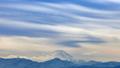 富士山と雲と夕陽 23894326