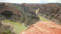 Bighorn River winds through the Bighorn Canyon  23904869