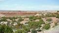 Pan across colorful Montana desert 23904874