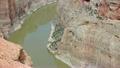 Camera follows the steep walls of Bighorn Canyon 23904875
