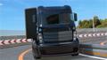 跑在高速公路的黑轨道有海视图 24040002