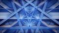 Blue Pentagon pattern loop video, stage background 24102255