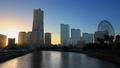 横浜トワイライト みなとみらい タイムラプス フィックス 24568004