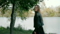 女性 パーク 公園の動画 24613793