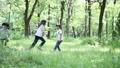森林の中で追いかけっこ  24818384