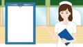nurse, nurses, white robe 25586464