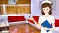 nurse, nurses, white robe 25586466
