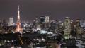 東京 東京タワー タイムラプスの動画 25615452