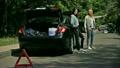 車 自動車 道端の動画 25672354