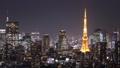 東京 タイムラプス 東京タワーの動画 25878723