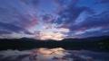permingM1609251 空と雲のタイムラプス 湖の夜明け 25953269